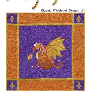 Dragonfire pattern cover